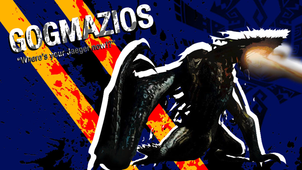 Mh4u Gogmazios Wallpaper Borderlands Style By Risingsun16 On