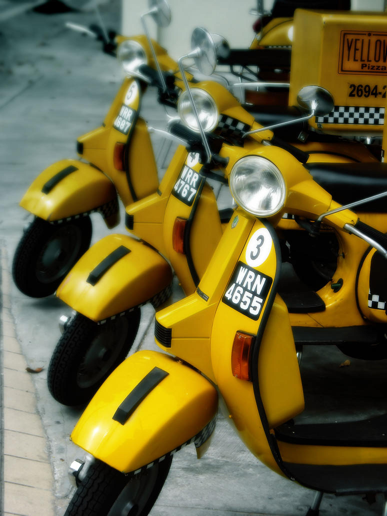 Yellow Cab 3 by sp3ctrm5tr
