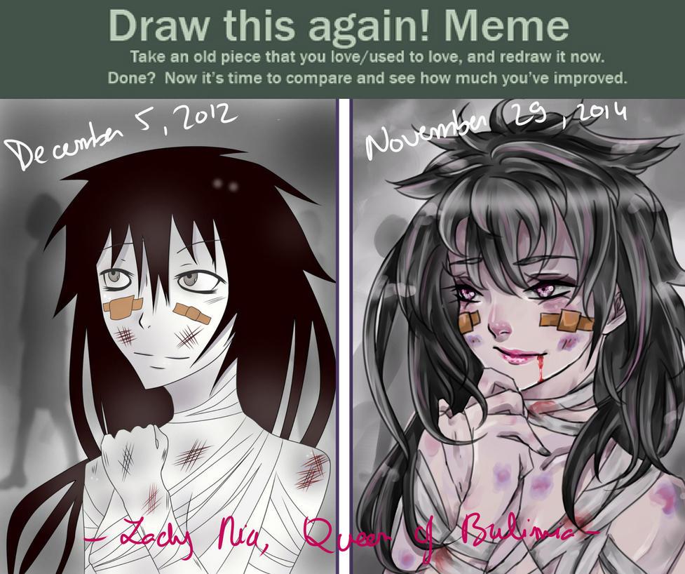 Draw this again! Meme - 2012/2014 by Karasarai