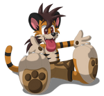 Tiger Wants Snugs NAO!