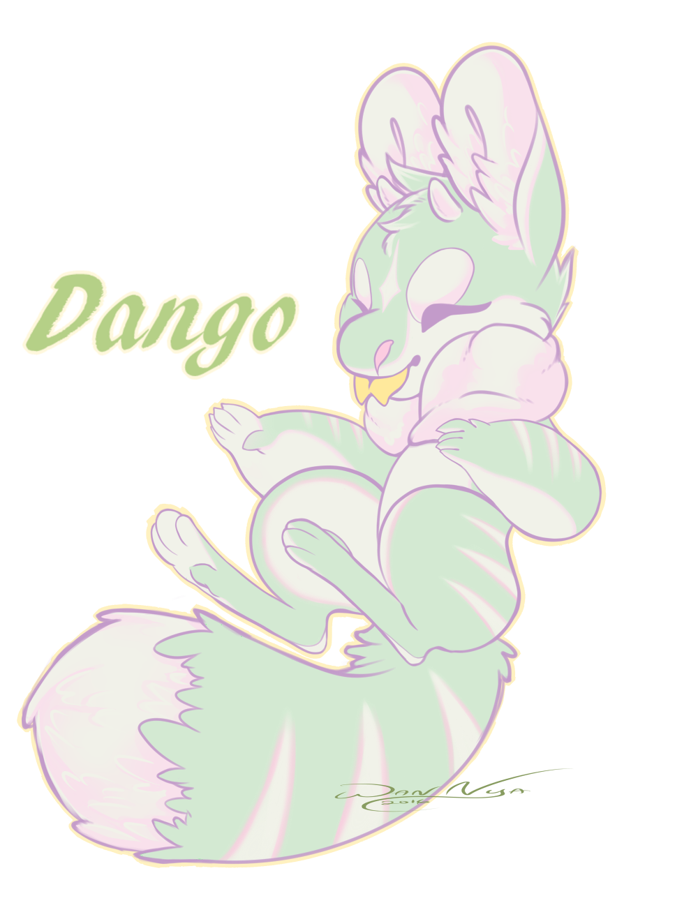 Free MYO Poff - Dango by Wan-Nya