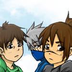 kakashi, yamato and iruka