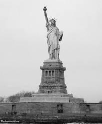 Lady Liberty by adryroseinbloom