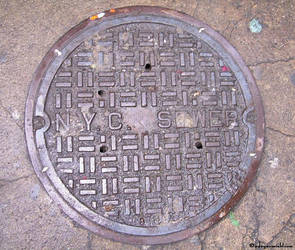NYC Sewer by adryroseinbloom