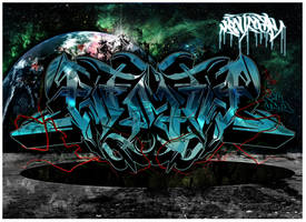 NEW GRAFF PIECE by KTN-UNO