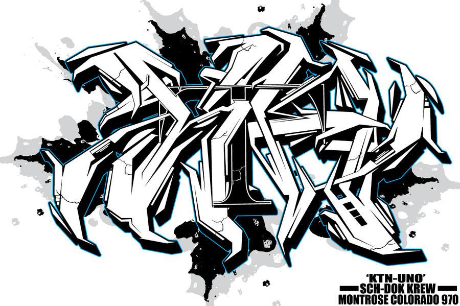 KTN-UNO BLACK n WHITE by KTN-UNO