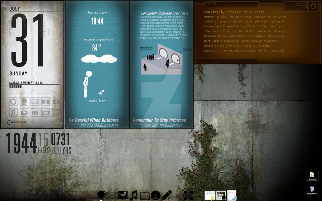 Portal 2 Theme Update - WIP