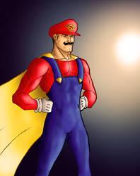 Super Ma-wait.... by Robobotnik