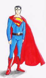 Superman Redesign by Robobotnik