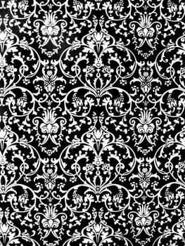 black n white ornamental pattern