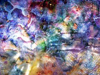 rainbow splashes sparkle by synesthesea