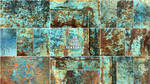 Teal Rust Texture Pack by synesthesea