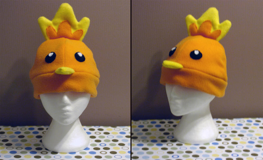 Torchic Hat by RainbowChickenDance