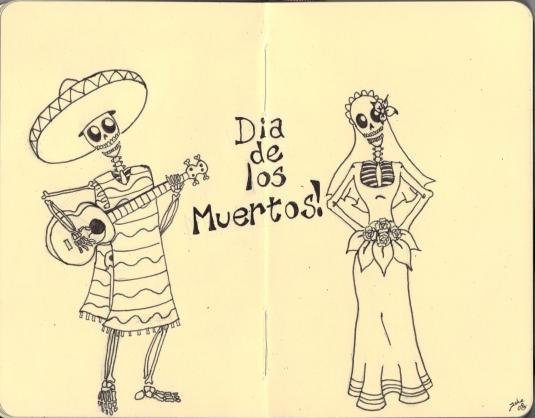 Dia de los Muertos by Villainocity