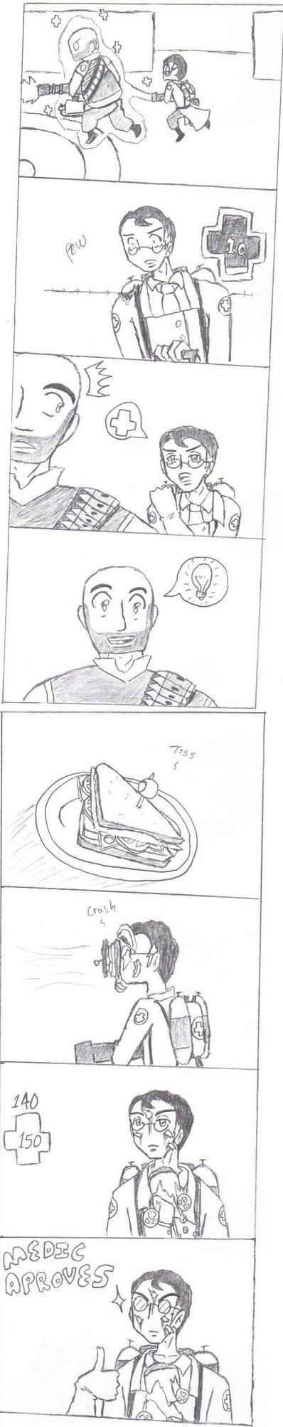 The Sandvich Comic by Yoshi317