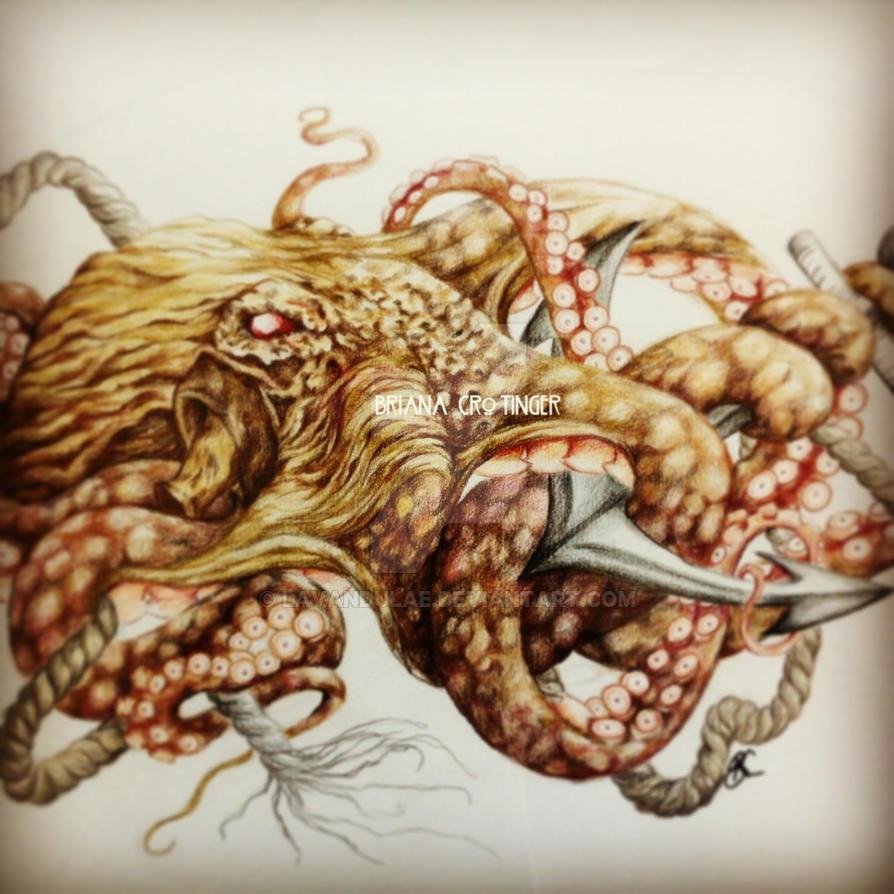 octopus tattoo by lavandulae on deviantart. Black Bedroom Furniture Sets. Home Design Ideas