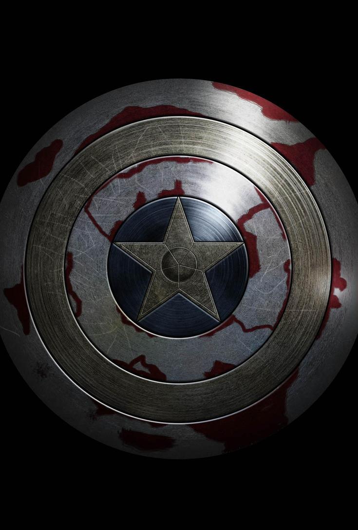Captain America Winter Soldier Wallpaper Shield