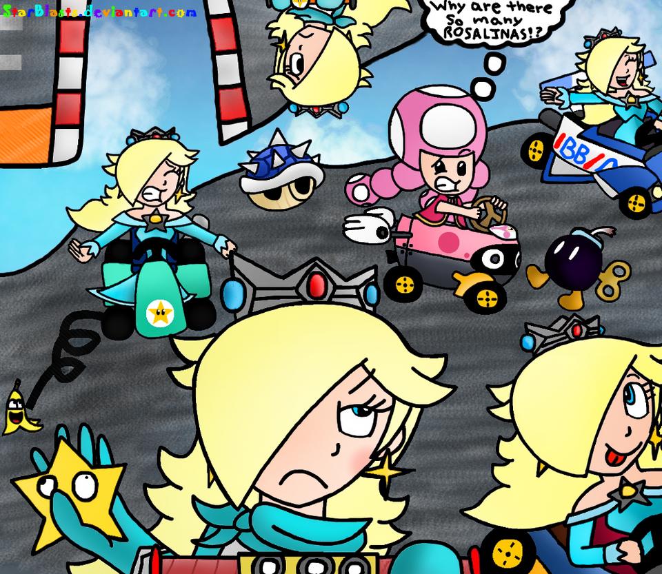 Rosalina Kart 8 by StarBlasts