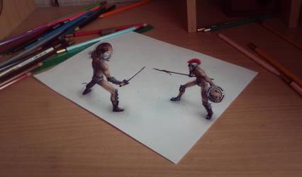 Gladiators 3D by SanyLebedev