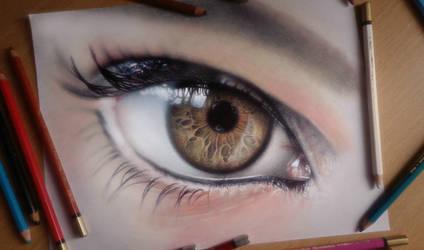 Eye by SanyLebedev