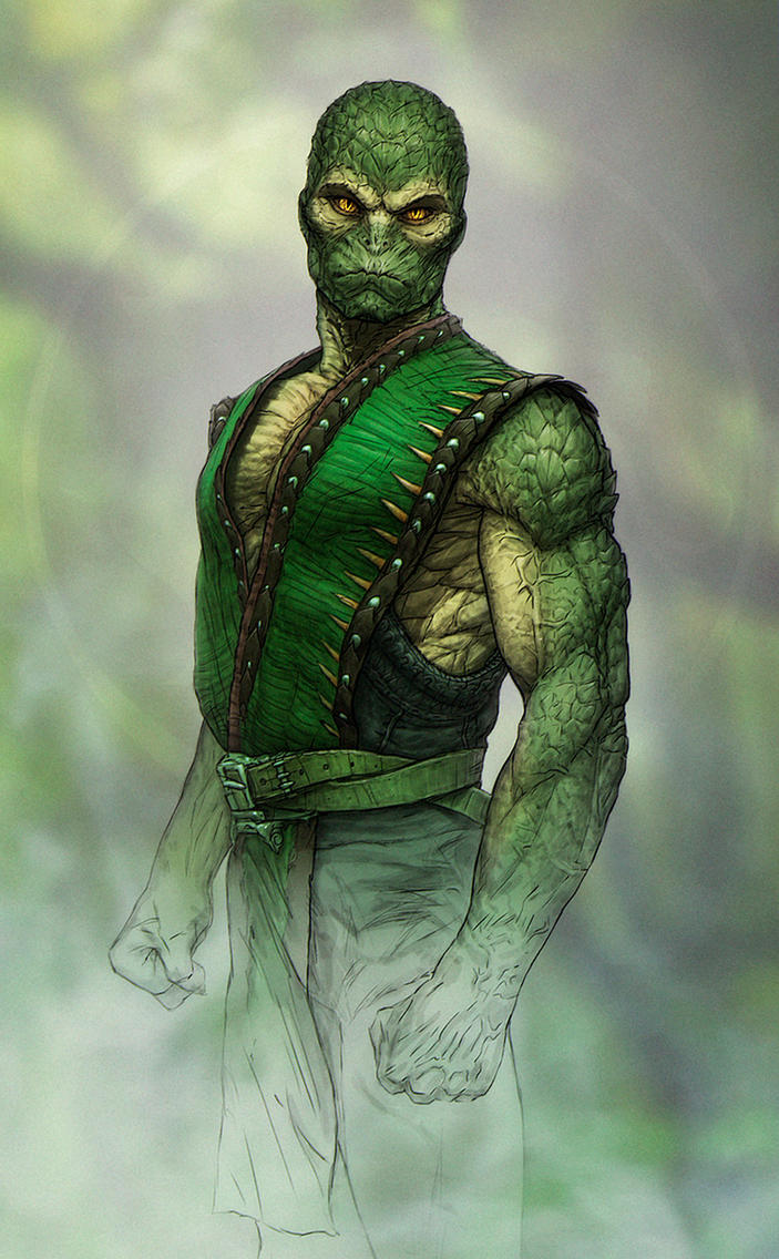 reptile (mortal kombat tribute)sanylebedev on deviantart