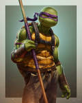 Donatello (TMNT) by SanyLebedev