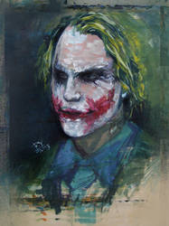 The Joker by PYdiyudie