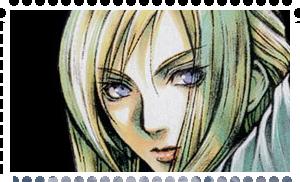 Aya Brea stamp 2 by WhiteDevil350