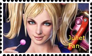 Juliet Starling stamp by WhiteDevil350