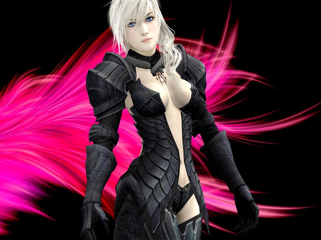 Lightning fantasy armour by WhiteDevil350