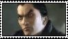 Kazuya Mishima stamp by White---Devil