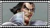 Kazuya Mishima stamp 2 by White---Devil