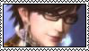 Bayonetta stamp by White---Devil