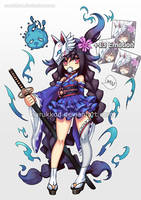 ADOPTABLE :Mini Soul Blade[CLOSE] by narukkod