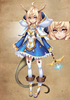 ADOPTABLE :Dragon priest [ Auction ][CLOSE] by narukkod