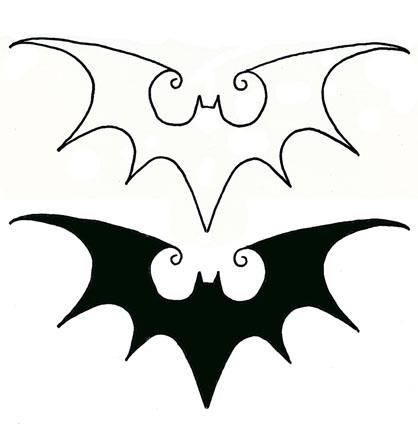 my bat tattoo idea by kainsevilbunny on deviantart. Black Bedroom Furniture Sets. Home Design Ideas