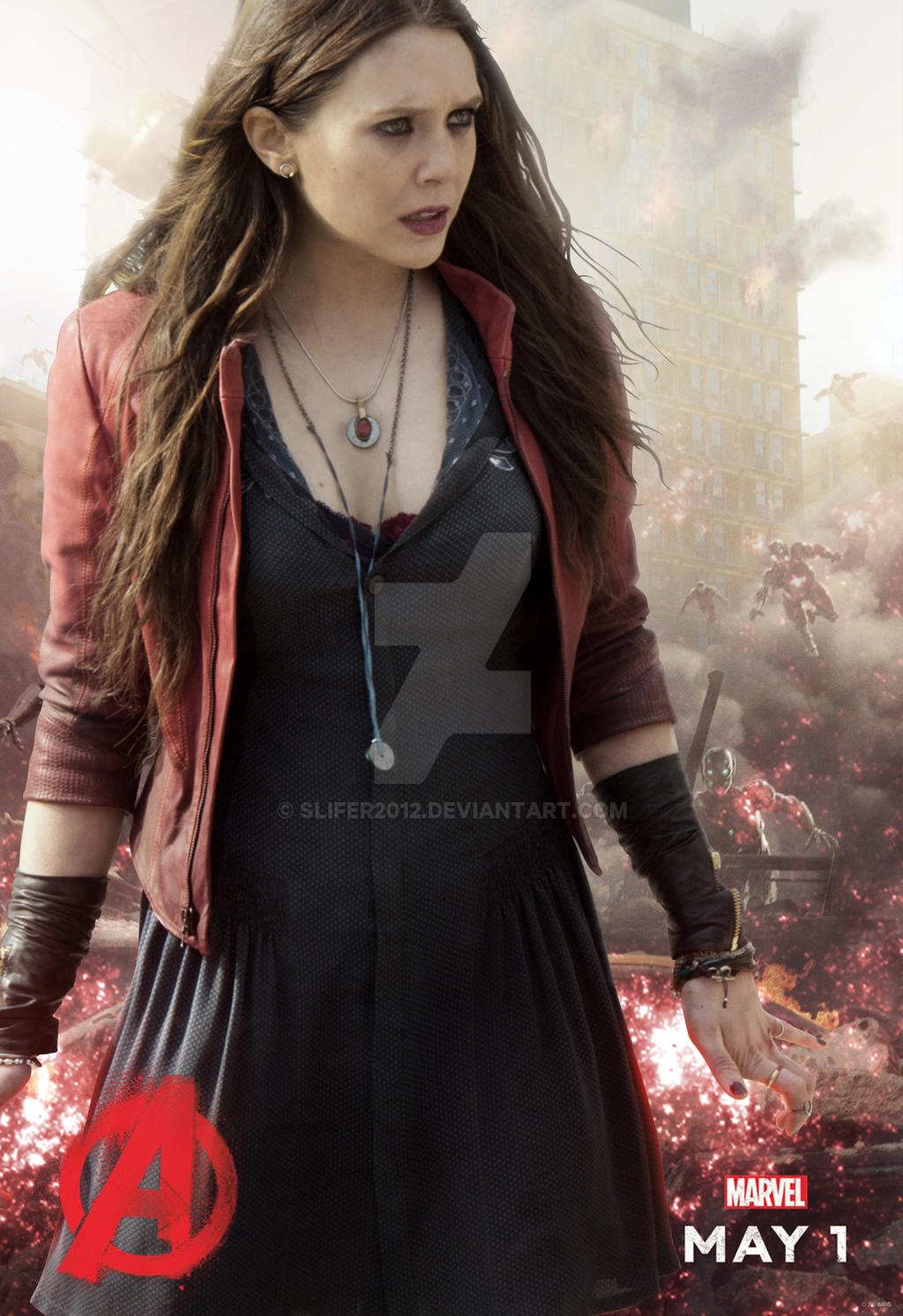 Scarlet Witch Avengers Age of Ultron by Slifer2012 on DeviantArt
