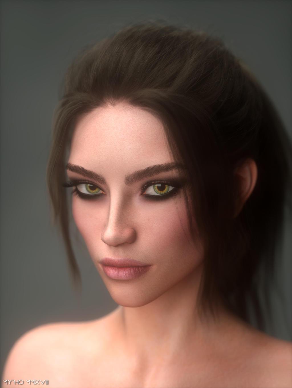 Raquel. by My-Rho