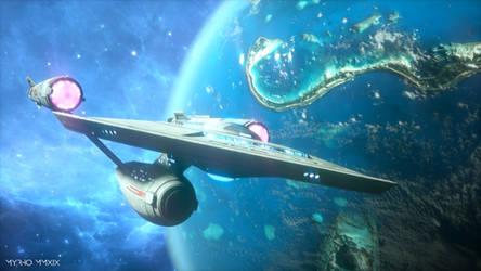 USS Enterprise. by My-Rho