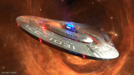 USS Discovery. by My-Rho