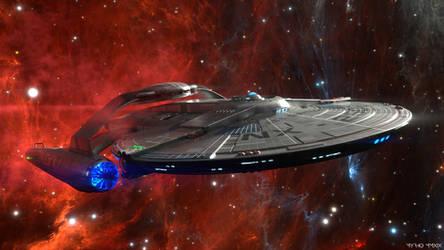 USS Saratoga. by My-Rho