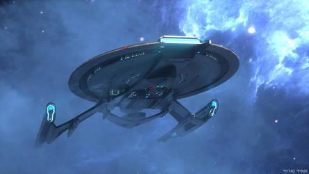 USS Georgiou. by My-Rho