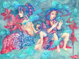Three sisters by Konorao