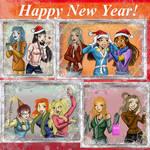 Winter holidays of bad guys girlfriends