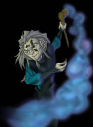 The Dark chi master by GoldieMilrose