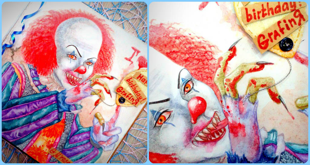 It (Tim Curry) by GoldieMilrose
