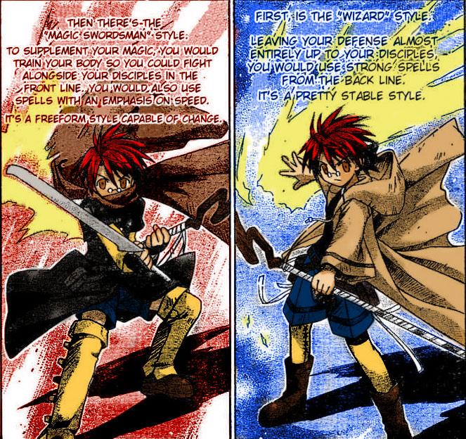 Negi combat style by yunaginomachi