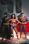 wonder woman, superman, batman DC Classic Trinity