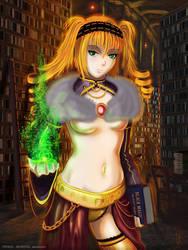 Ethne Lyn, the mage - OC