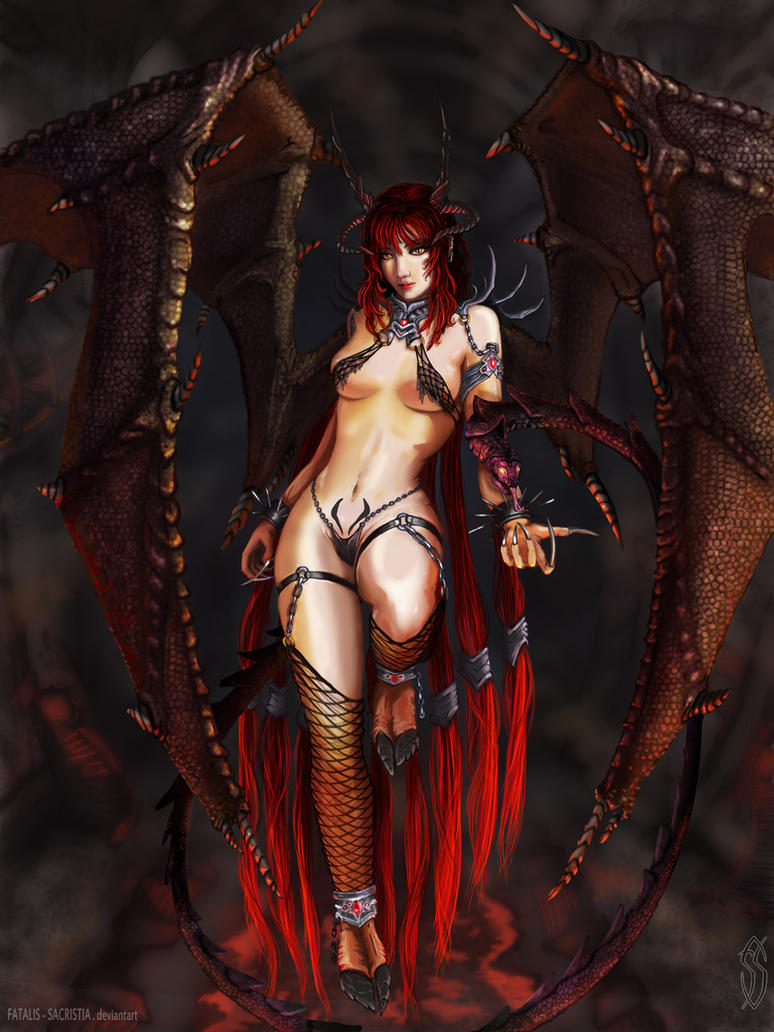 Female demons nude photos hentai picture